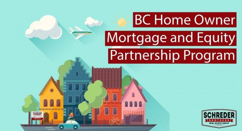 What Is The BC Home Owner Mortgage and Equity Partnership Program