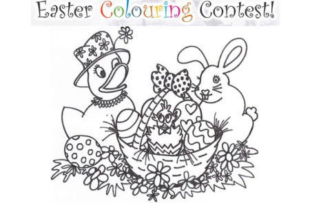 Royal LePage Wolstencroft Realty Annual Easter Colouring Contest